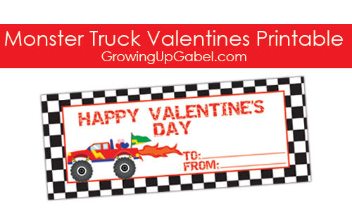 Monster Truck Valentine
