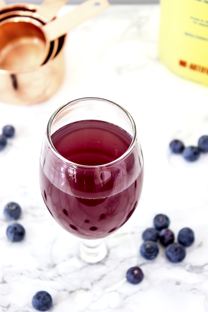 Blueberry Lavender Lemon Drop Martini is a great spring cocktail, and perfect for your Easter holiday. It's easy to make and uses a locally made simple syrup.