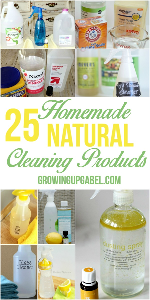 Natural Products for Cleaning