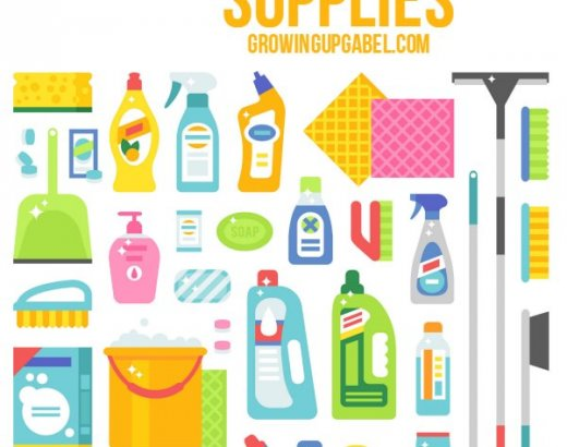 10 Helpful Spring Cleaning Supplies