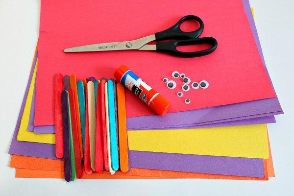 butterfly craft supplies