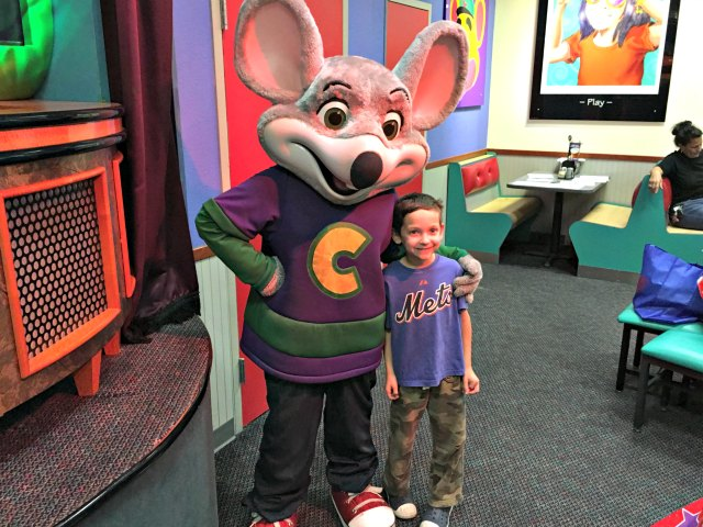 Your party coordinator will take care of the rest, setting up your Chuck E. Cheese theme party decorations for you! This is the party theme offered upon booking, but you are welcome to bring in your own DIY fun party themes, should you prefer.