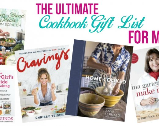 The Ultimate Cookbook Gift List for Moms