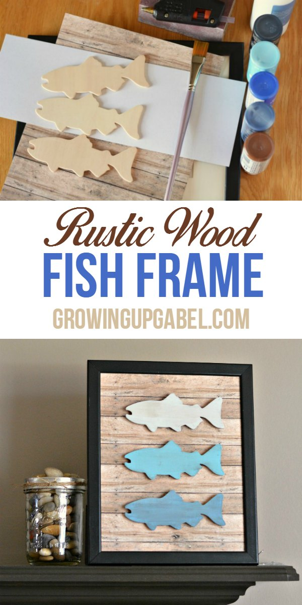 DIY Father's Day Gift Fish Frame