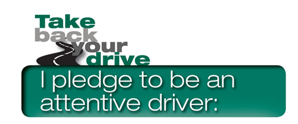 Distracted Driving Awareness Month Pledge