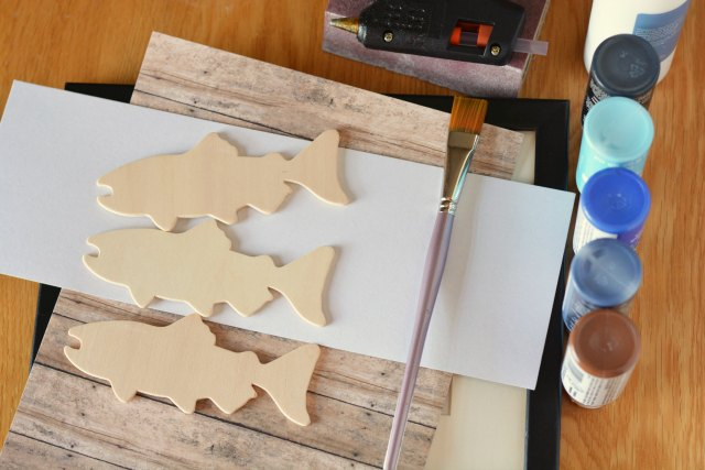 Ombre Fish Frame