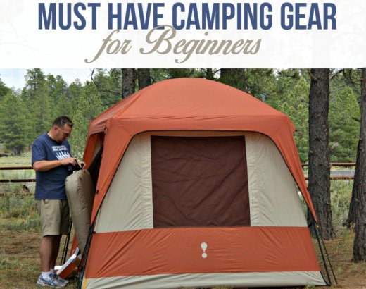 Useful Camping Gear for Beginners