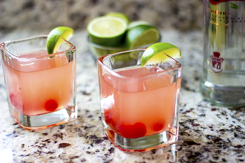 Cherry limeade vodka cocktail recipe for Easy good vodka drinks
