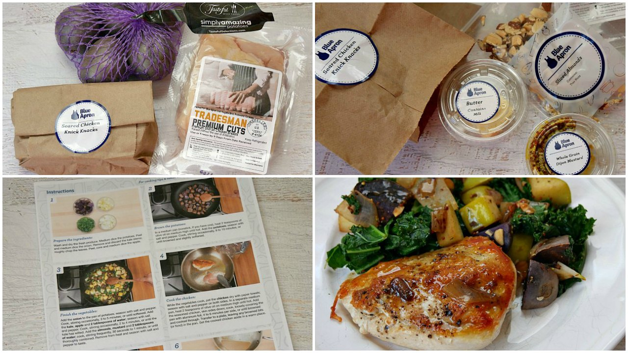 Blue apron home food delivery service makes dinner easy for Food delivery