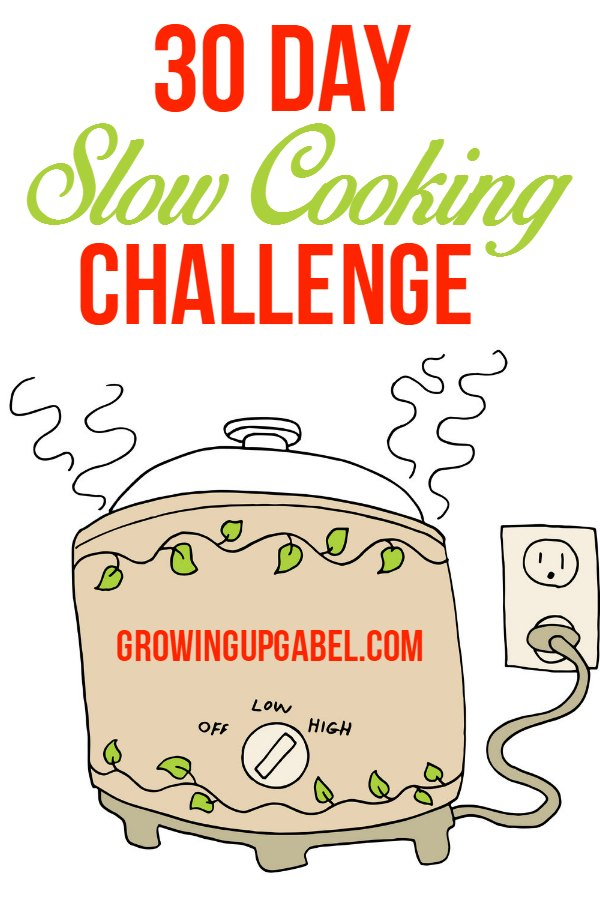 Start slow cooking with this fun 30 day challenge! Receive a new slow cooker recipe everyday and choose which ones are best for your family.