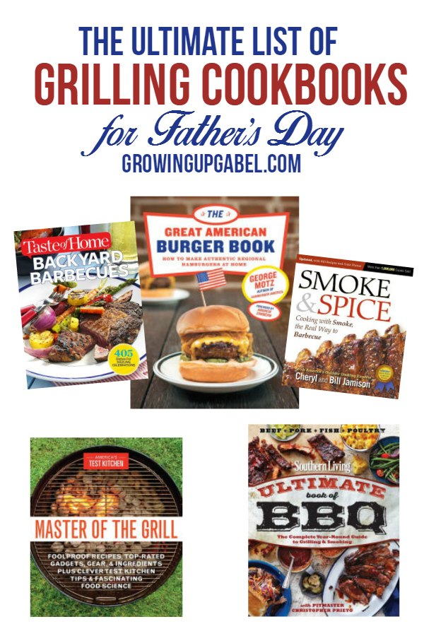 Help dad find new summer grilling recipes with a new grilling cookbook for Father's Day! This list of cookbooks includes grilling ideas for recipes that are healthy and easy. From chicken to beef to hamburgers and kebabs, Dad will make the best grilling recipes all summer long!