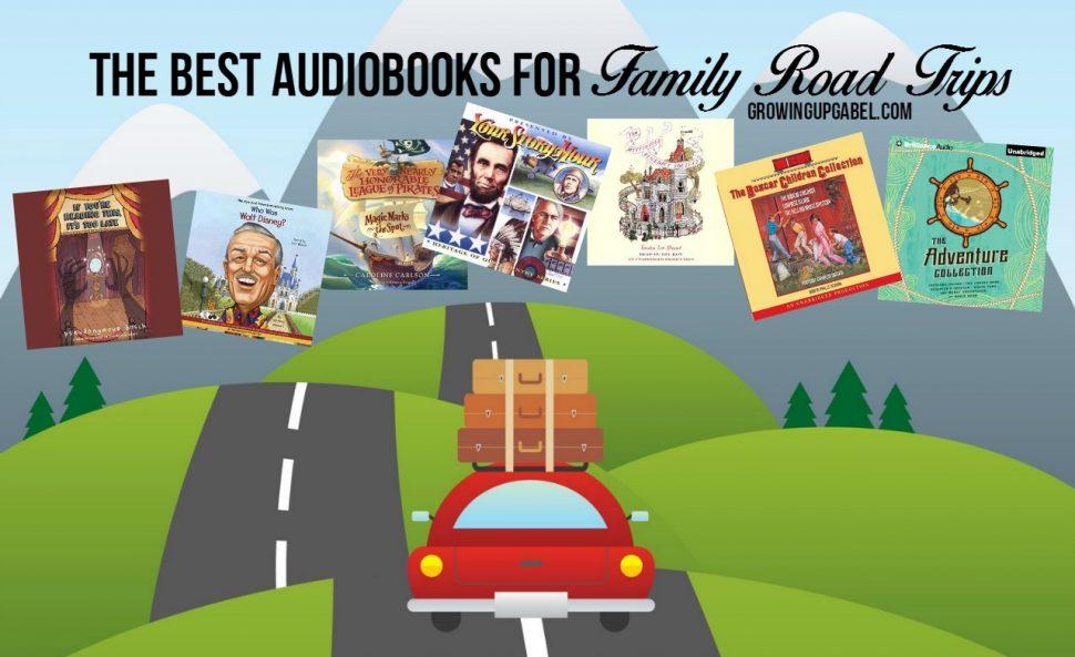 Audoibooks help make long boring car rides more fun!