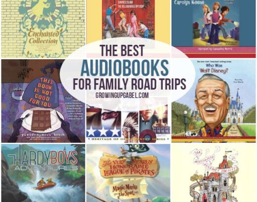 The Best Family Friendly Audiobooks for Summer (and Family Road Trips!)