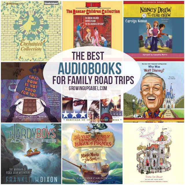 Audiobooks for travel with kids