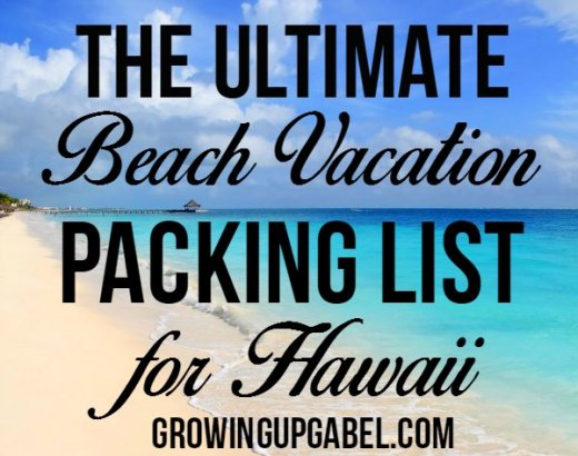 The Ultimate Beach Vacation Packing List for Hawaii