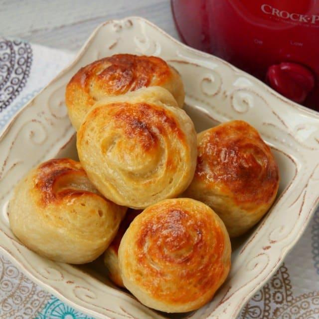Slow Cooker Bread Rolls