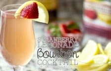 Strawberry Lemonade Bourbon Cocktail Recipe Growing Up Gabel Twitter