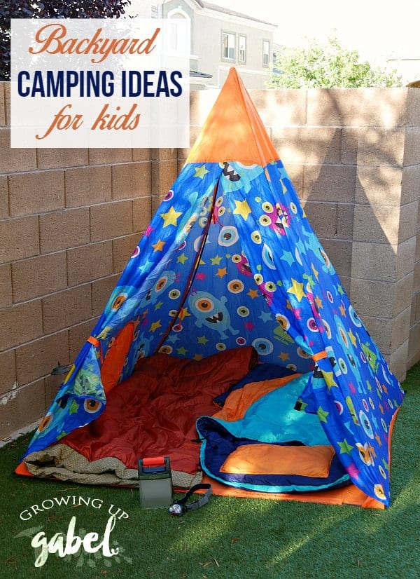 No time for a big camping trip? Check out our backyard camping ideas for kids! This is the perfect summer activity for children. From a fun tent to creative yard games, you will create awesome memories with your kids!