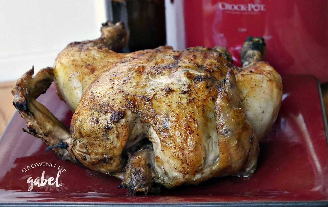 Make drunken chicken in the Crock Pot slow cooker instead of the grill with this easy recipe.