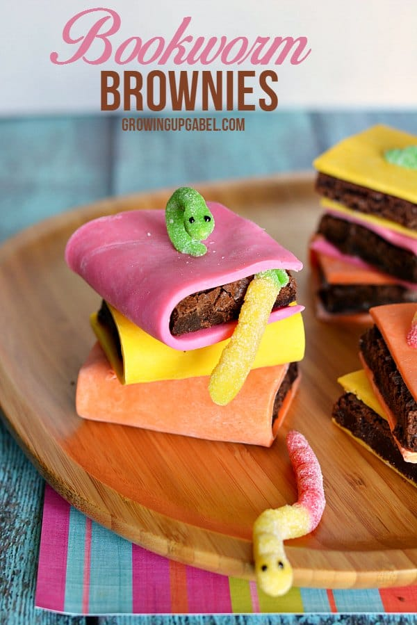 Bookworm Brownies After School Snack