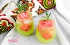 Double Watermelon Vodka Lemonade