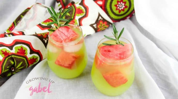 Midori and Watermelon Lemonade