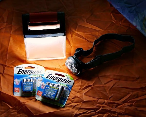 Energizer lights