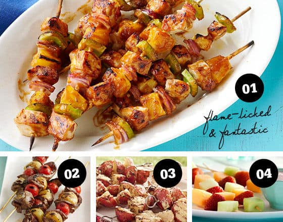 Food on A Stick