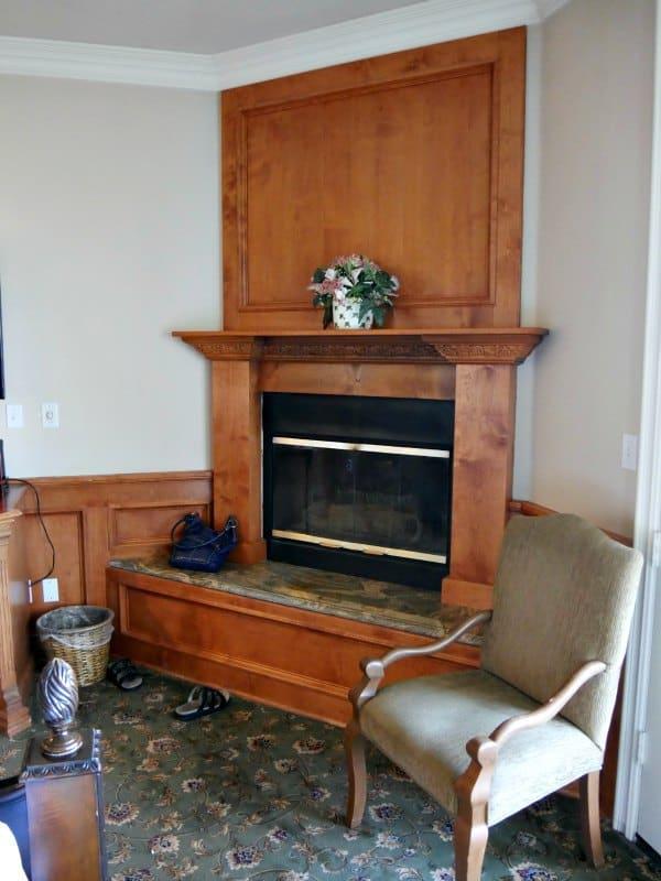 Inn at Churon Fireplace