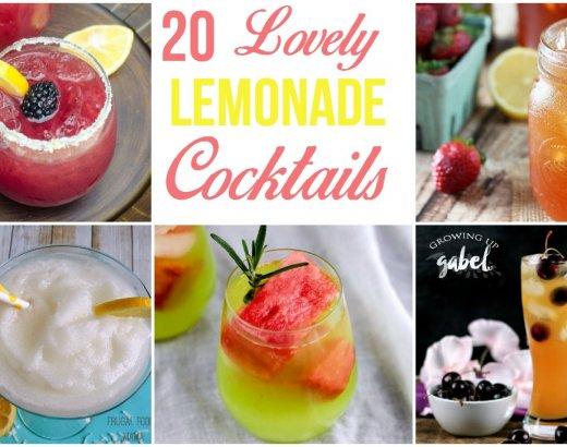 20 Lovely Lemonade Cocktails