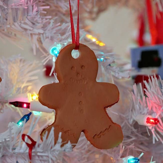 No Bake Clay Christmas Ornament