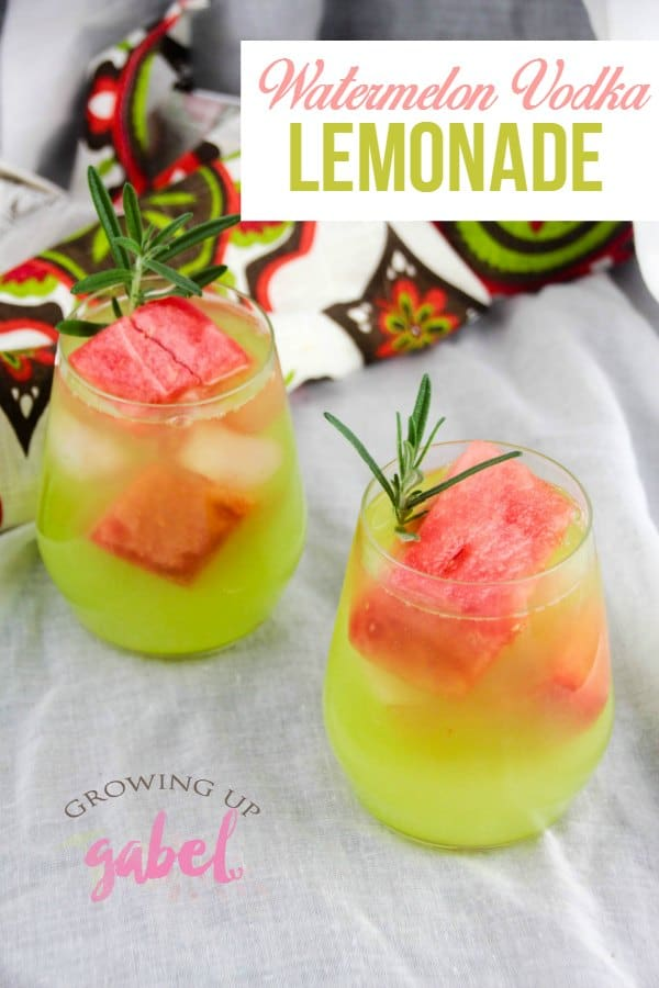 Watermelon Vodka Lemonade