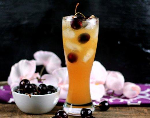 Black Cherry Homemade Hard Lemonade