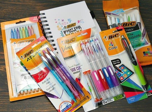 BIC Pens and Pencils