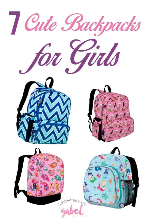 Start the school year off with one of these cute backpacks for girls! From pink fairies to retro peace signs, these backpacks span all ages and styles!