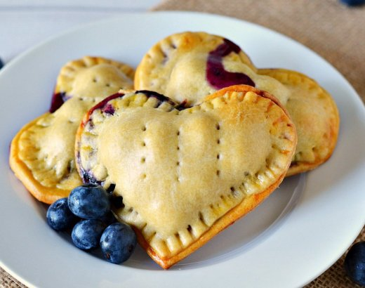 Baked Blueberry Hand Pies