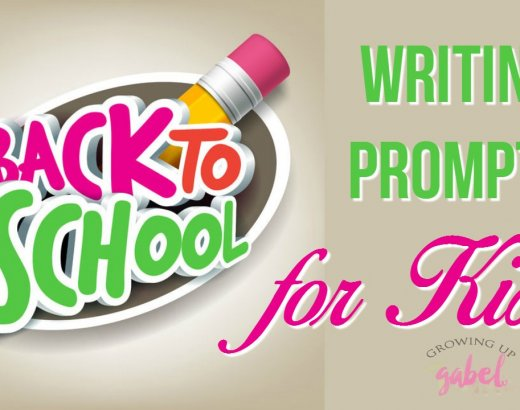 Back to School Writing Prompts for Kids