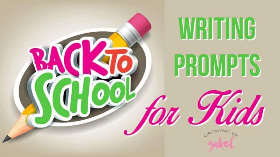 Fun creative writing prompts
