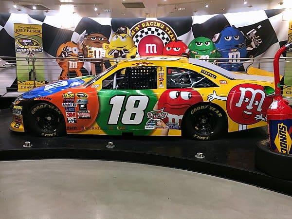 M&Ms NASCAR
