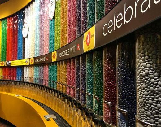 The Top 5 Things to Do at M&M'S World Las Vegas