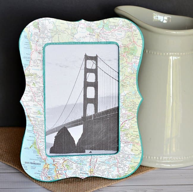 Photo Frame Map