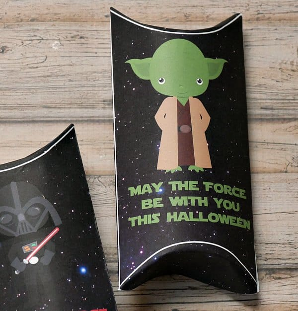 Yoda Pillow Box