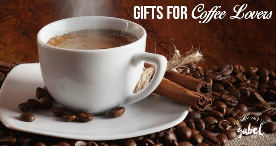 Find fun and unique gifts for coffee lovers in this collection of caffeine inspired gift ideas.