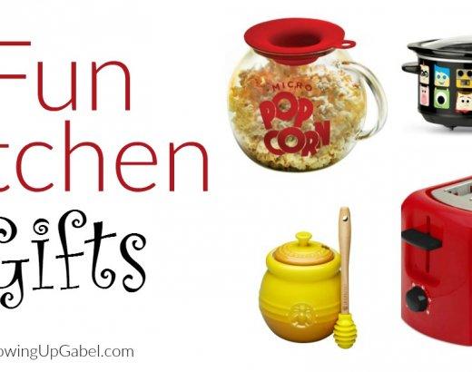 Fun Kitchen Gifts to Make Cooking Fun!
