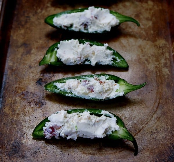how to make stuffed jalapeno poppers with cream cheese