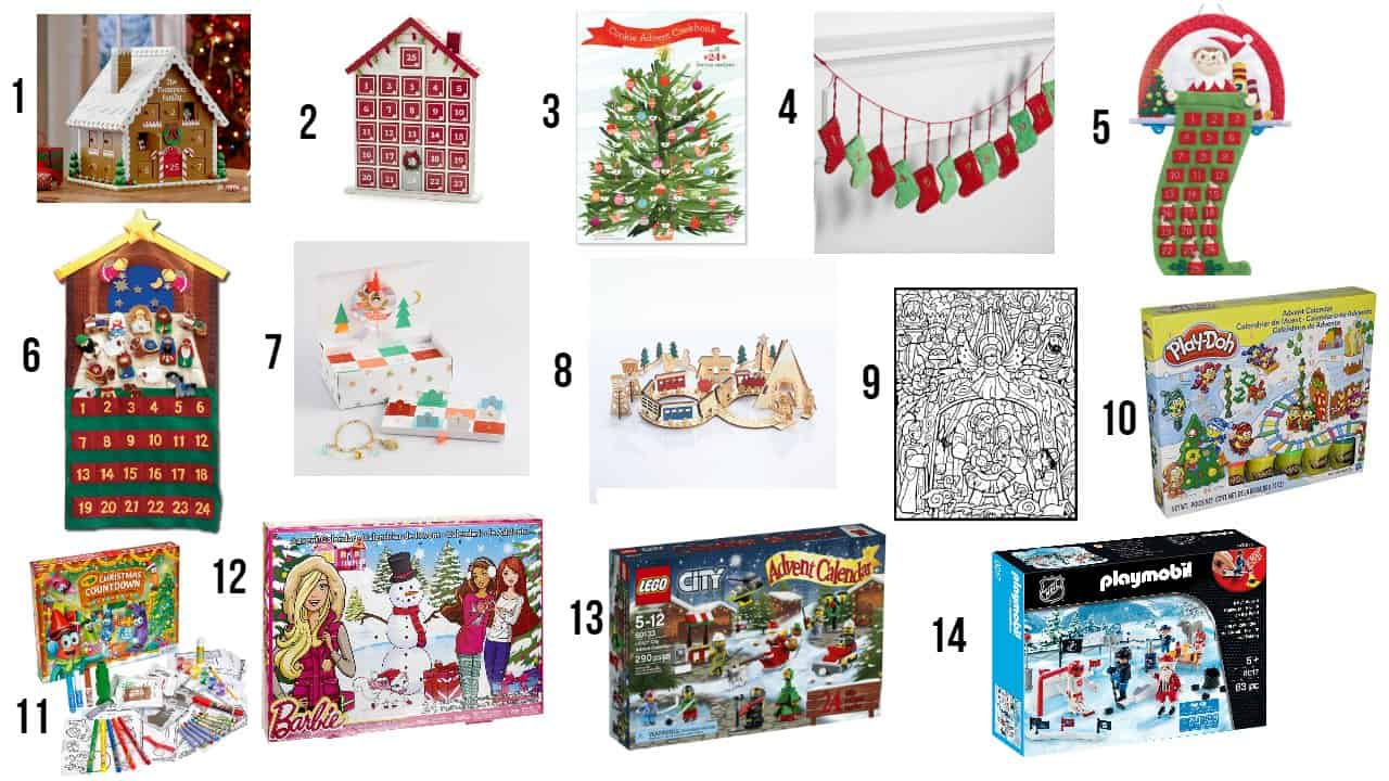 Unique Advent Calendar Ideas : Fun and unique christmas advent calendars for kids