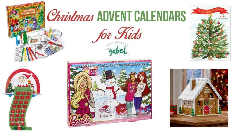 fun and unique christmas advent calendars for kids. Black Bedroom Furniture Sets. Home Design Ideas