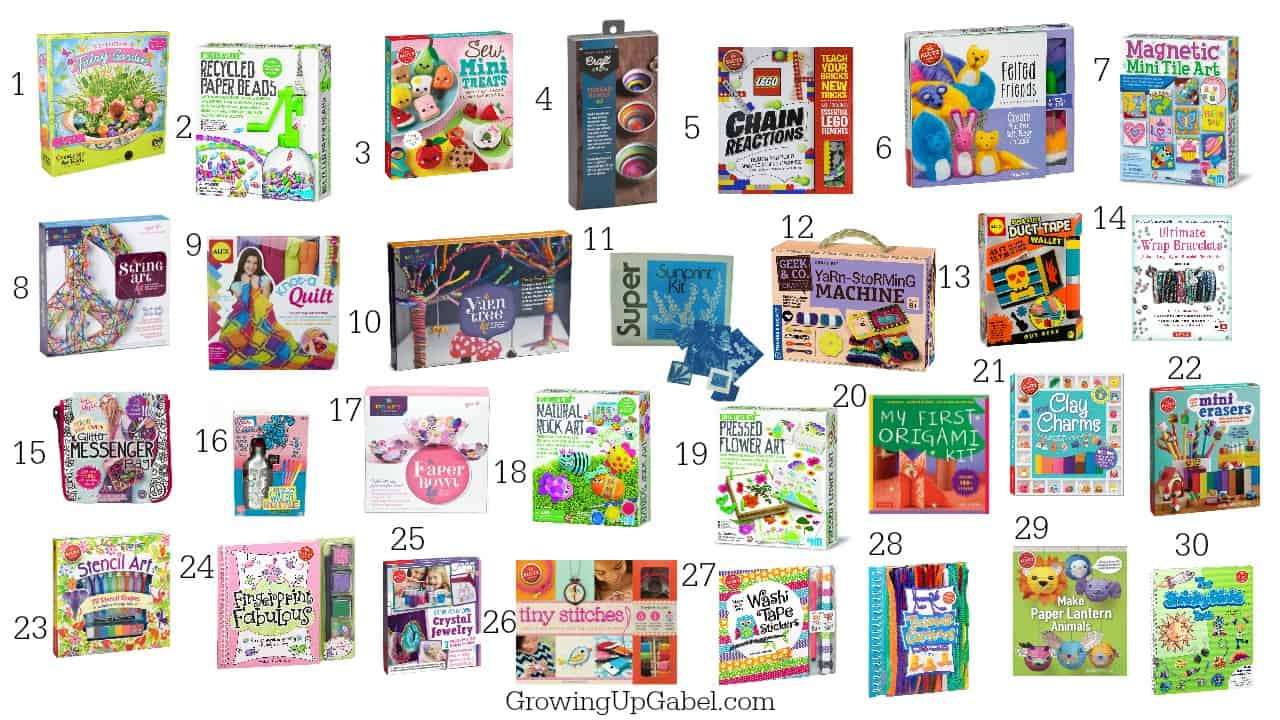 Craft kit for kids - 30 Cool Craft Kits For Kids