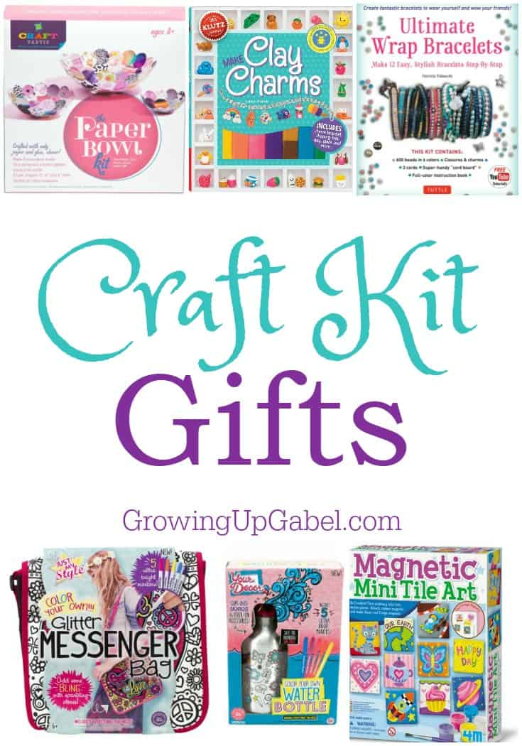 Craft kits for kids make a fun Christmas gift! These are perfect for families or friends to spend time together. From science kits to pretend play to learning how to knit or make bracelets, find a craft kit for every kid in this awesome list.
