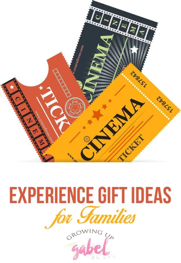 Experience gifts are fun Christmas presents for families, for kids and for adults. Give gifts that experience life together during the holidays and all year long.